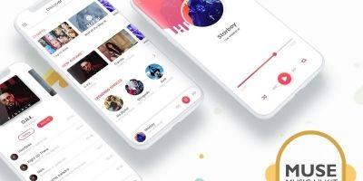 Muse - Music Android Studio UI Kit