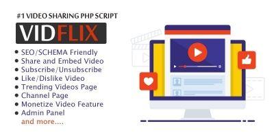 Vidflix - Video Sharing Platform PHP