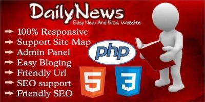 Daily News PHP Script