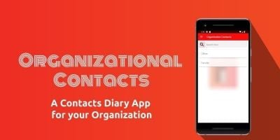 Organizational Contacts - Android Source Code