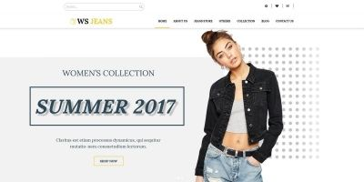 WS Jeans - WordPress Theme