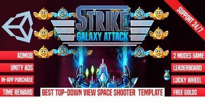 Strike Galaxy Attack - Unity Template