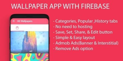 Wallpaper Android App With Firebase