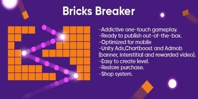 Brick and Balls - Complete Unity Project