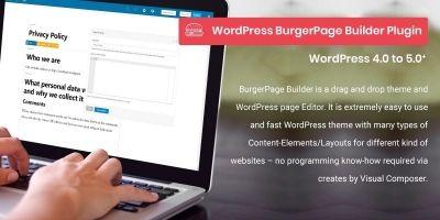 BurgerPage Builder - WordPress Page Builder