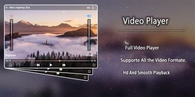 Video Player - Android Studio Project