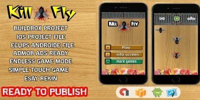 Kill Fly - Buildbox Template