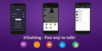 Chat Application - Android Source Code