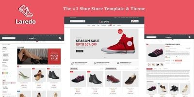 Laredo - Shoes Store Responsive HTML5 Template
