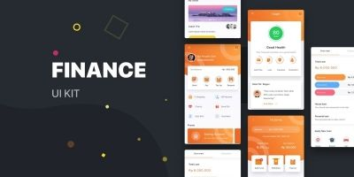 Finance Android UI kit