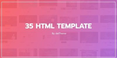 35 HTML Templates Bundle