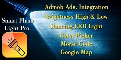 Smart Flashlight Pro - Android Template