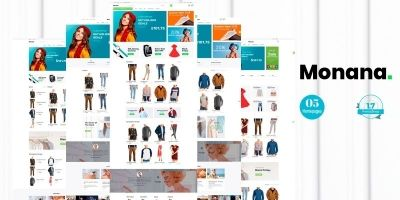 Monana Fashion - PrestaShop Theme