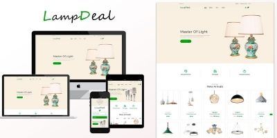 LampDeal Furniture - PrestaShop Theme