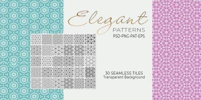 30 Elegant Seamless Tileable Patterns