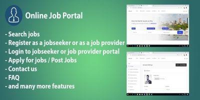 JobSearch - Online Job Portal PHP