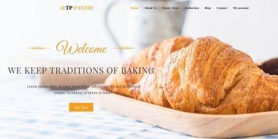TPG Pastry Bakery WordPress Theme