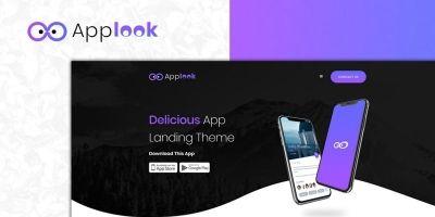 Applook -  App Landing Page