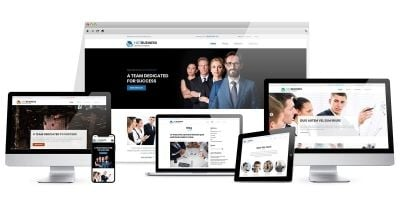 Hot Business - WordPress Gutenberg Theme