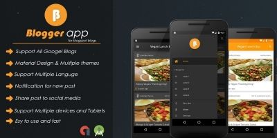 Blogger App - Android Source Code