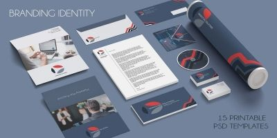 Marketing Branding Identity - 15  Print Templates
