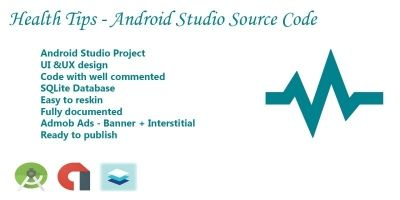 Health Tips - Android Studio Source Code