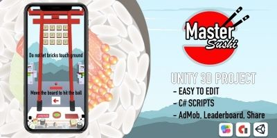 Sushi Master - Unity 3D Project