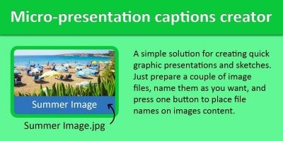 Micro-Presentation Captions Creator .NET