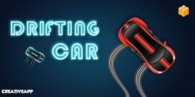 Drifting Car - Buildbox Template