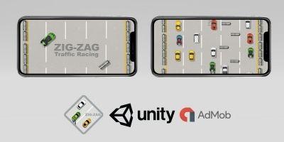 ZigZag - Endless Traffic Racing - Unity Engine
