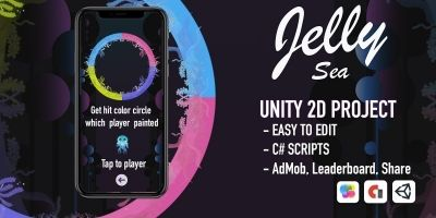 Jelly Sea - Unity 3D Project