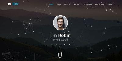 Robin - Personal Portfolio HTML Template