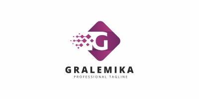 Gralemika G Letter Logo