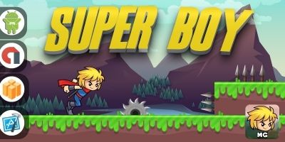 Super Boy - Buildbox Template
