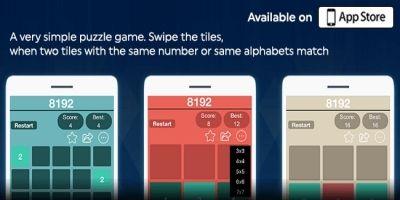 8192 Number Puzzle Challenge - iOS Source Code