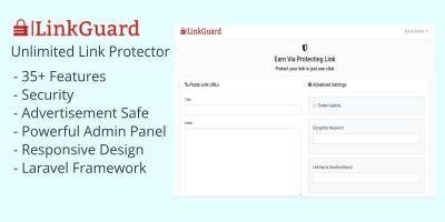 LinkGuard - Link Protecting PHP Script