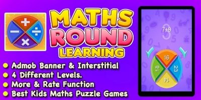 Maths Round Learning Game - iOS Source Code