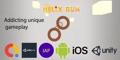 Helix Run - Complete Unity Source Code