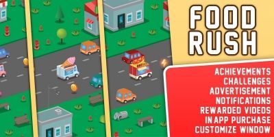 Food Rush - Complete Unity Project