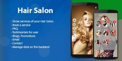 Hair Salon - Android App Template