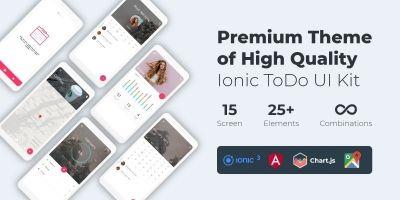 ToDo - Premium UI Kit Theme - Ionic 3
