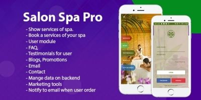 Salon Spa Pro - Android Template