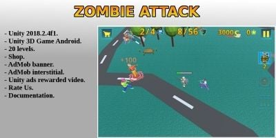 Zombie Attack - Complete Unity Project