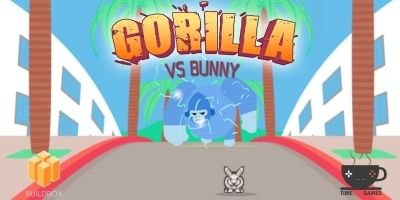 Gorilla Vs Bunny - Full Buildbox Game