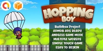 Hopping Boy Runner Template Buildbox