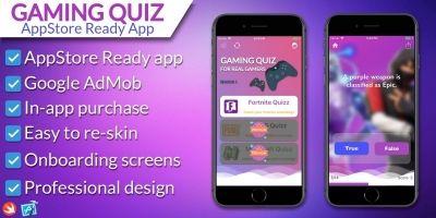 Ultimate Gaming Quiz - iOS Source Code