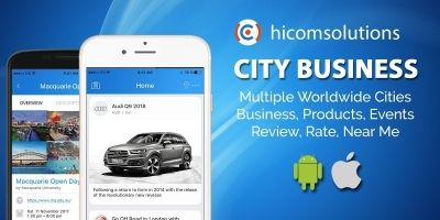 City Business Information iOS App Source Code