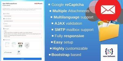 Ajax PHPContactForm