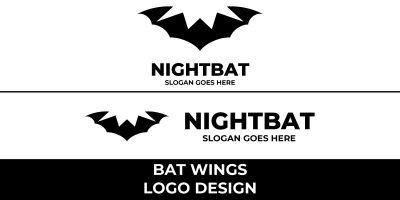 Bat Wings Logo Design