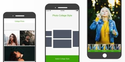 Photo Collage Style - iOS Source Code